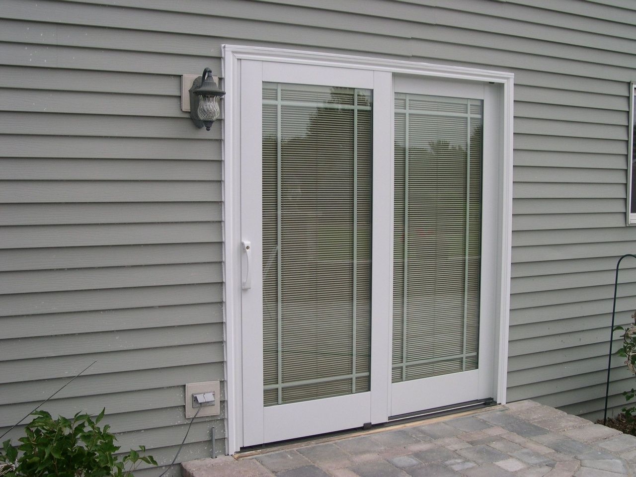 Vertical Blinds For Sliding Glass Doors Lowes In 2020 Sliding Glass Doors Patio Patio Door Blinds Glass Doors Patio