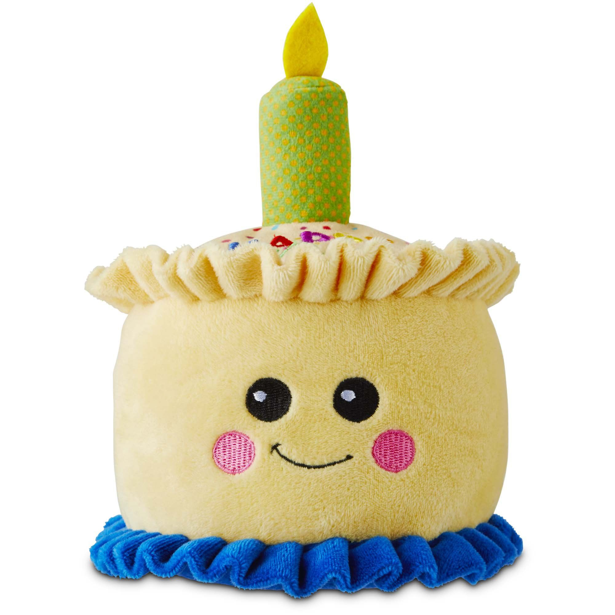 You & Me Happy Birthday Cake Dog Toy, Medium | Doggy Birthday ...