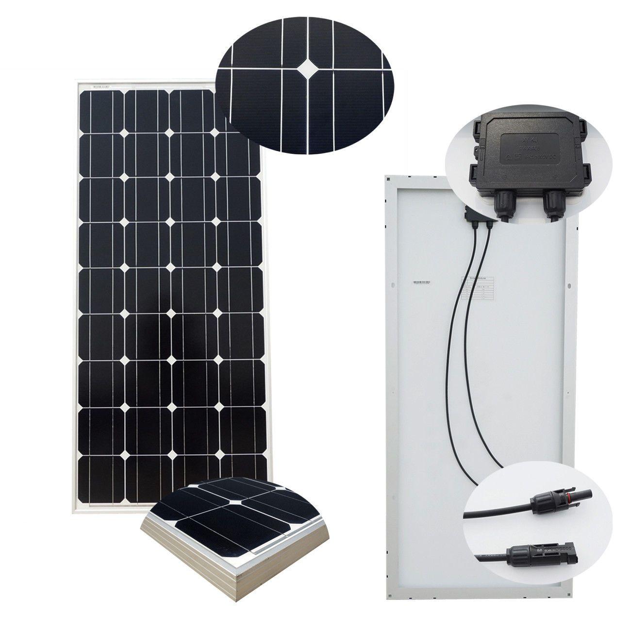 100w 200w 300w 400w 500w 600w 1kw Solar Panel System For Rv Home Battery Charger Solar Kit Solar Panel Kits Solar Panels