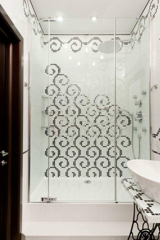 Mosaik Fliesen für Bad: Ideen für Betonung einzelner Bereiche ...