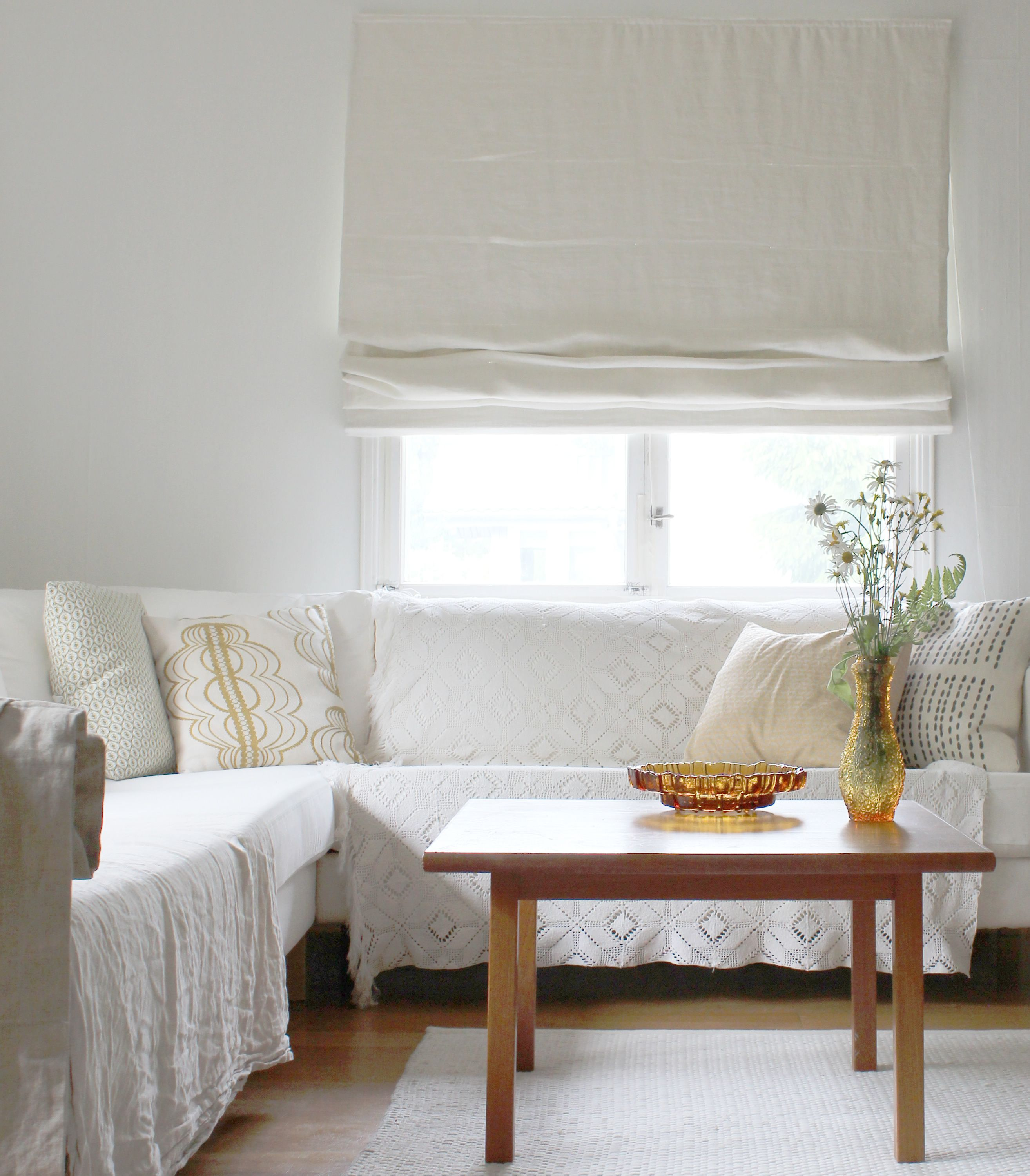House Tour Relaxed Vintage Style In The Finnish Countryside White BlindsWhite CurtainsScandinavian Living