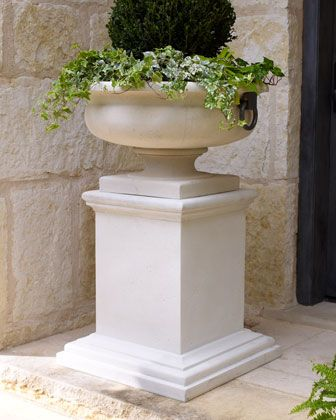 #HORCHOW   Tuscan Style Planter U0026 Pedestal Is Very Nice! Perfect For The