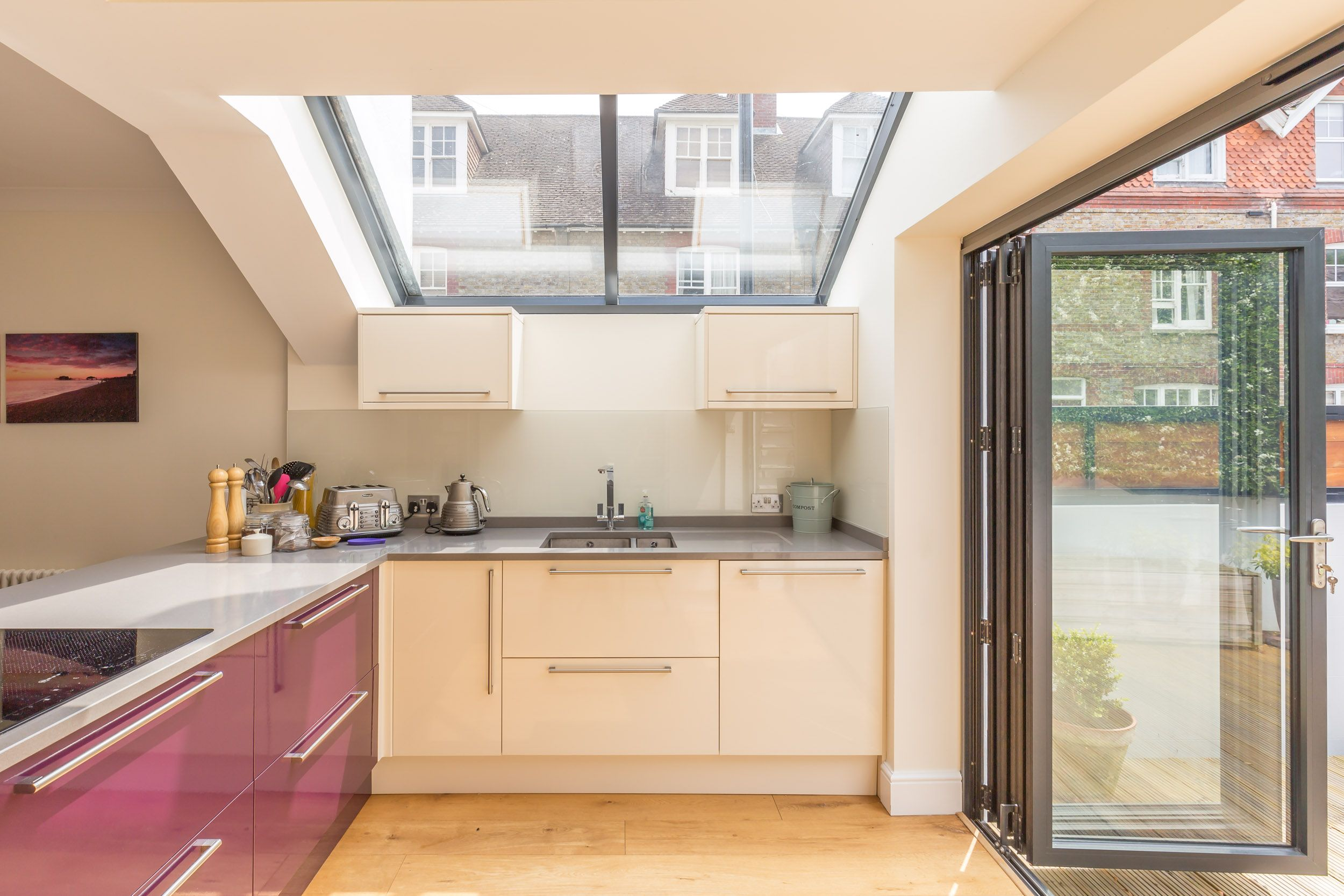 Eleven Contemporary Kitchen Contemporary Kitchen Side Extension Traditional Home Lewes