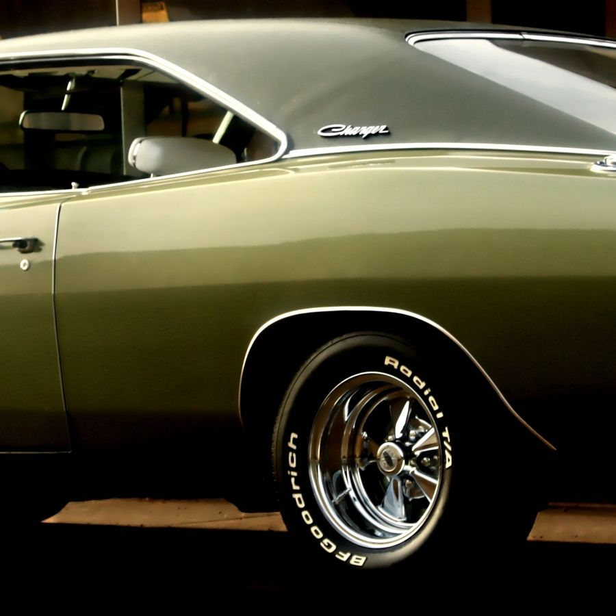 1968 Dodge Charger R/T - This is what Jim drove up in when we first dated.