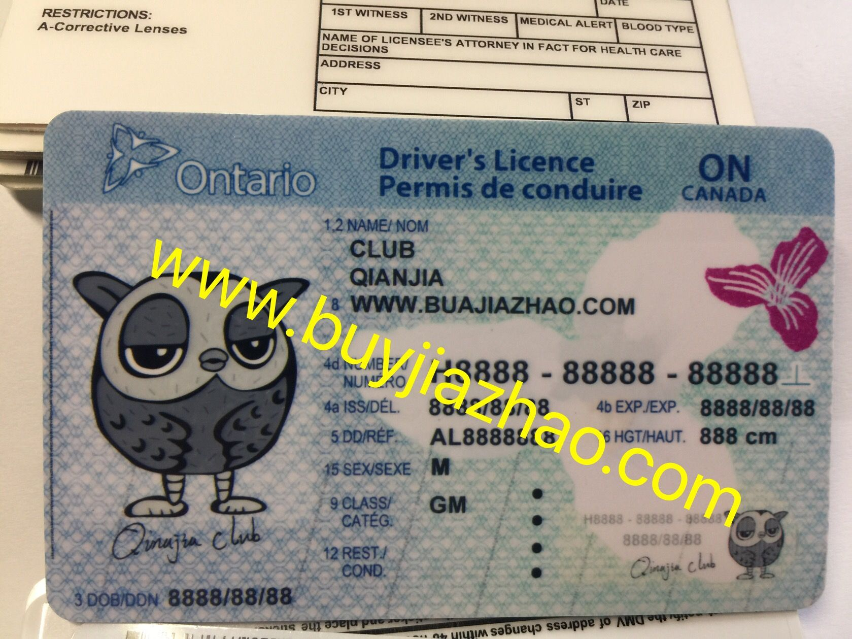 How to get fake Ontario fake ids | Ontario driver license