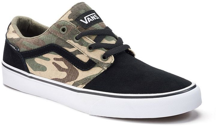 096992927b6708 Vans Chapman Stripe Men s Camouflage Skate Shoes