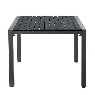 Table de jardin grise carrée br /Stromboli | Jardin