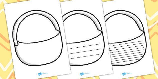 Draw And Write Picnic Basket Writing Frames | PPIII English ...