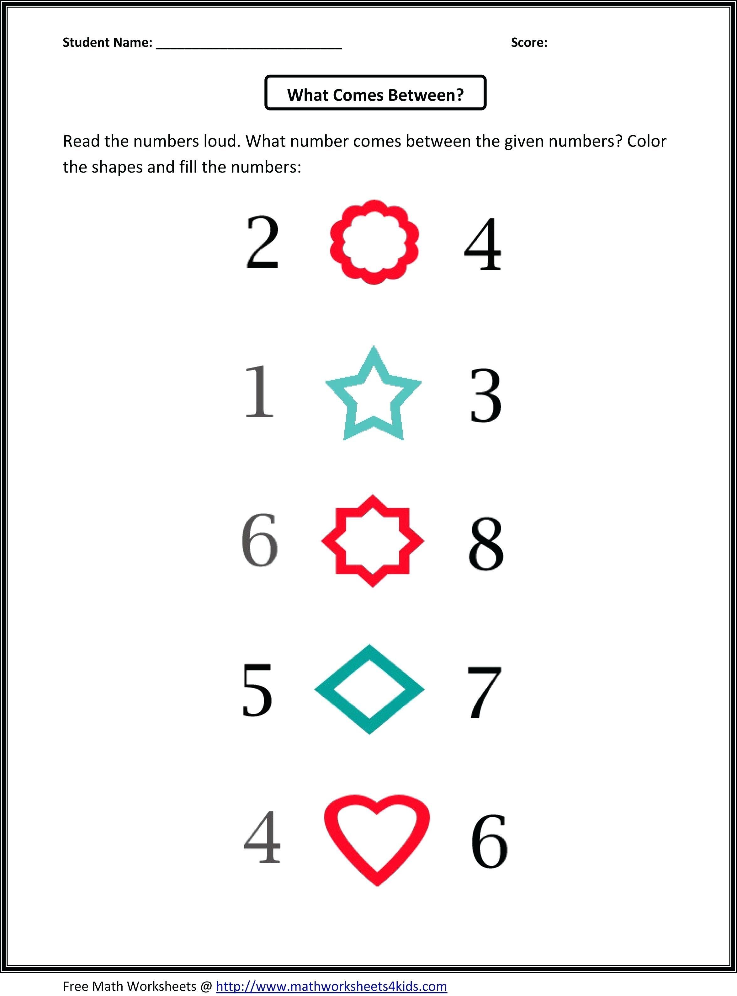 Kindergarten Math Counting Worksheets Free Counting Worksheets For Pattern Worksheets For Kindergarten Kindergarten Worksheets Math Worksheets [ 3174 x 2350 Pixel ]