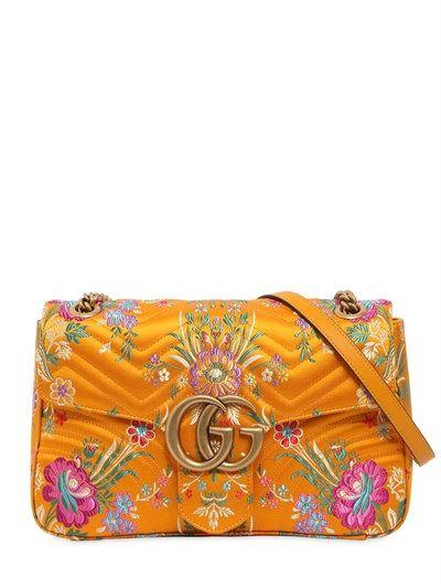 e9d92704cf6d GUCCI MEDIUM GG MARMONT 2.0 TOKYO PRINT BAG, YELLOW. #gucci #bags #shoulder  bags #lace #