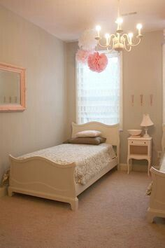 Simple And Feminine Bedroom Interior