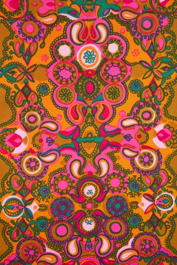 Marjatta Metsovaara, textile design, 1966. Via Goldstein Design Museum, © University of Minnesota