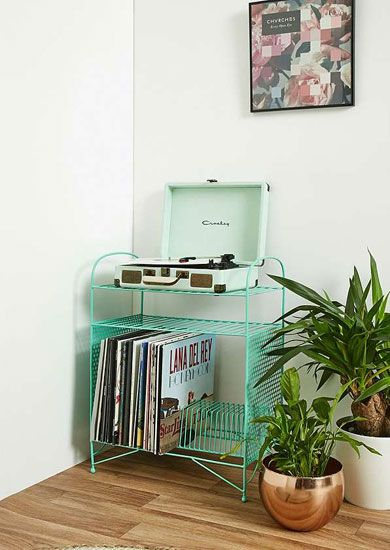Larisa Vinyl Storage Unit At Urban Outfitters
