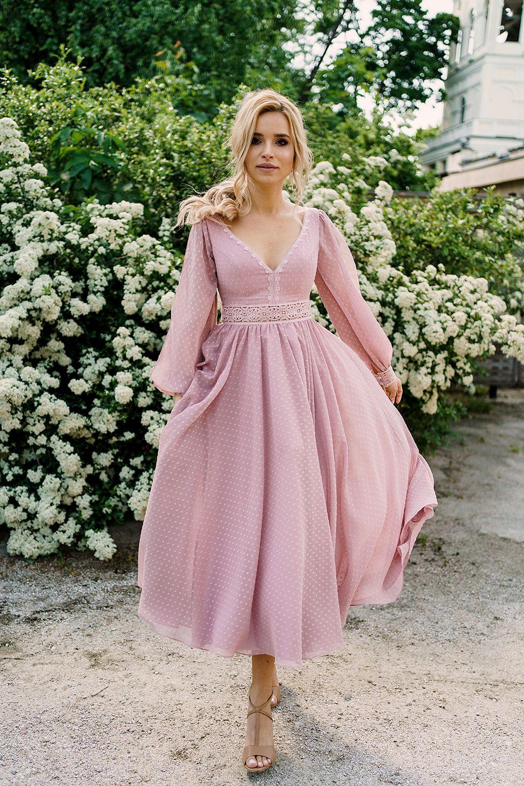 Sukienka Na Wesele Dotty I Nowa Kolekcja 2020 2021 Pracowni Sukni Dama Couture Z Warszawy Dresses Fashion Outfits