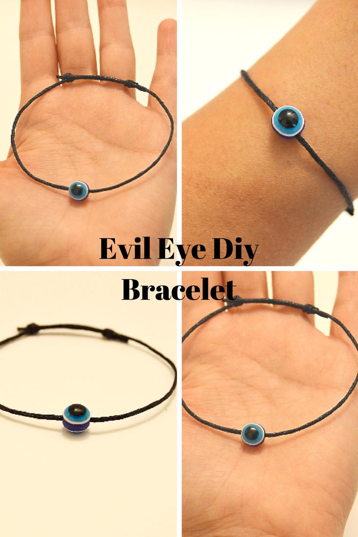 Black string bracelet for men string bracelet for men protection