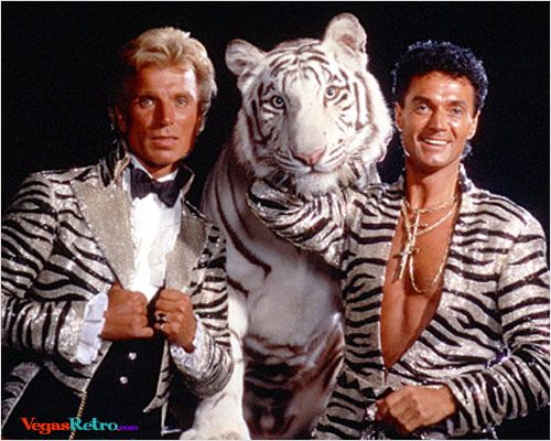 Siegfried & Roy 2 - Las Vegas magician photos by R Scott Hooper | Famous couples, The magicians, Famous duos