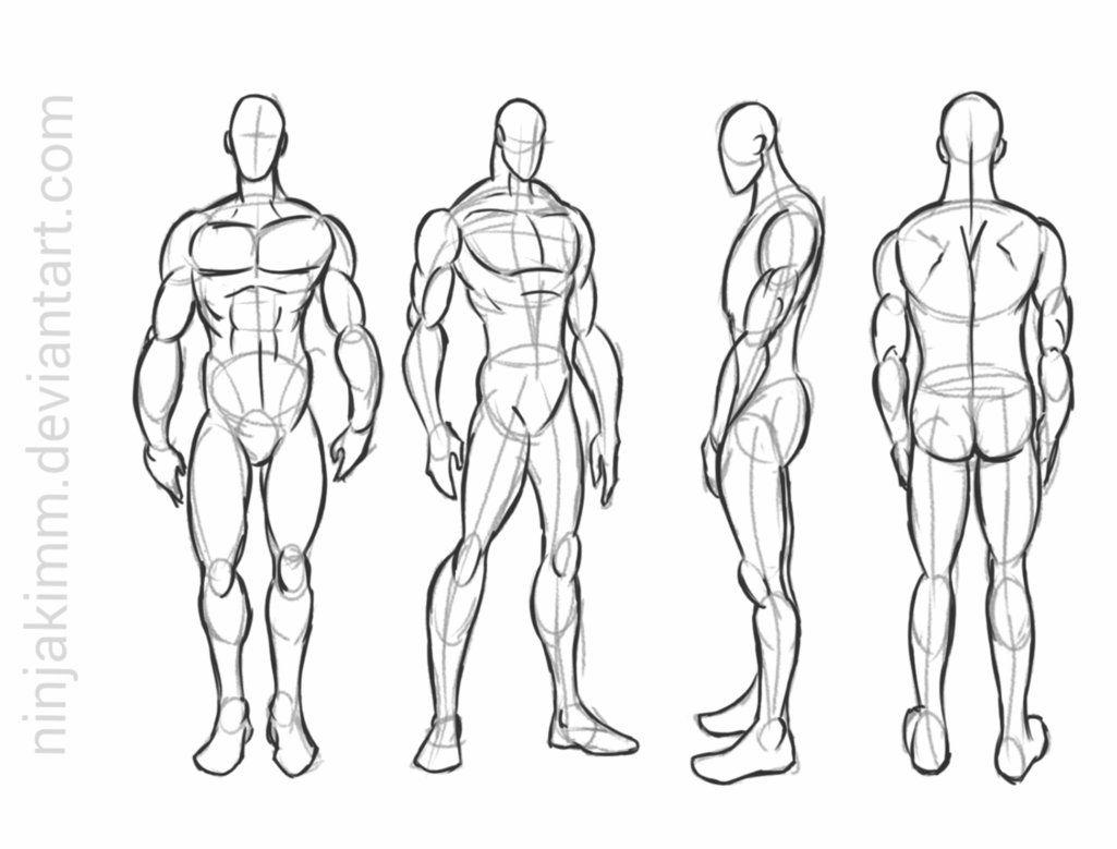 Male Standing Pose Commission Sketch By Https Www Deviantart Com Ninjakimm On Deviantart Anime Poses Drawing Poses Male Drawing Poses