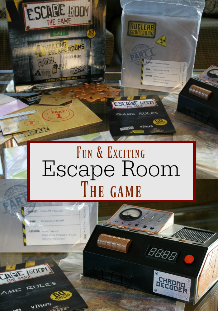 Have You Heard About The Latest Game From Spin Master Escape Room The Game It S Such Fun And Is A Great Escape Room Game Escape Room Diy Escape Room Puzzles