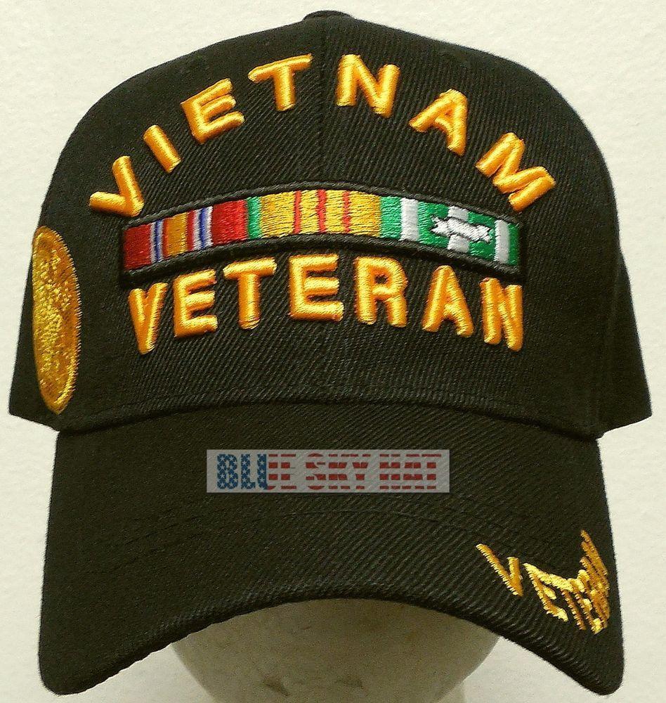025953b5903bf8 US ARMY GREEN BERET AIRBORNE SPECIAL FORCES VIETNAM VIET NAM VETERAN VET  CAP HAT