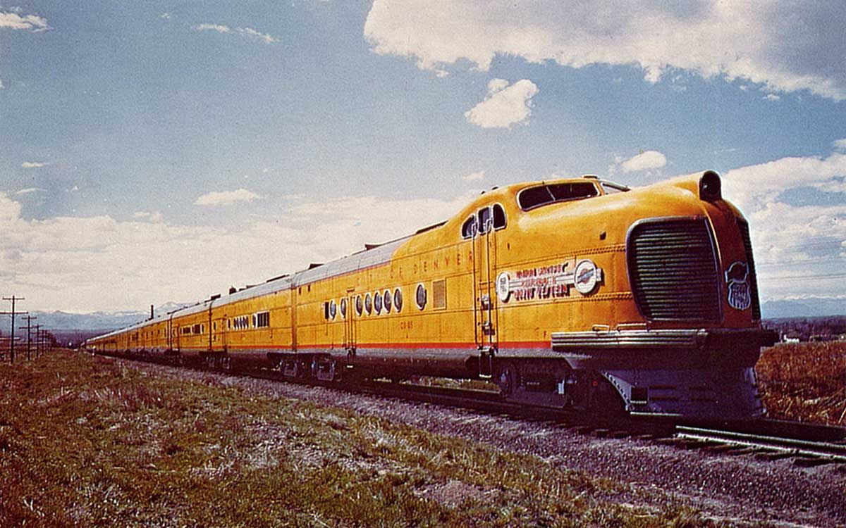 The Union Pacific Railroad City Of Denver Cd 05 Was
