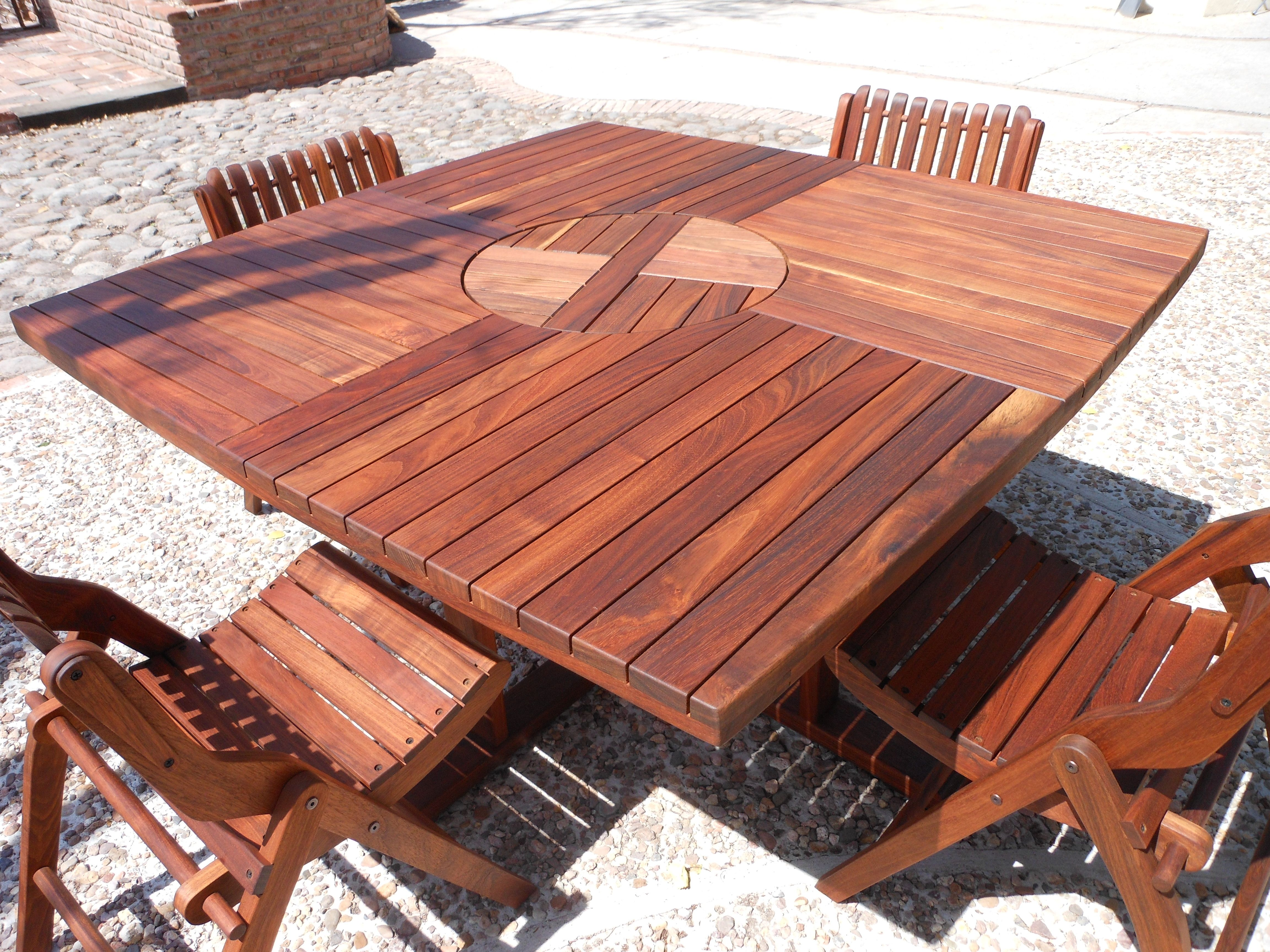 Lazy Susan Square Table | Projects | Pinterest