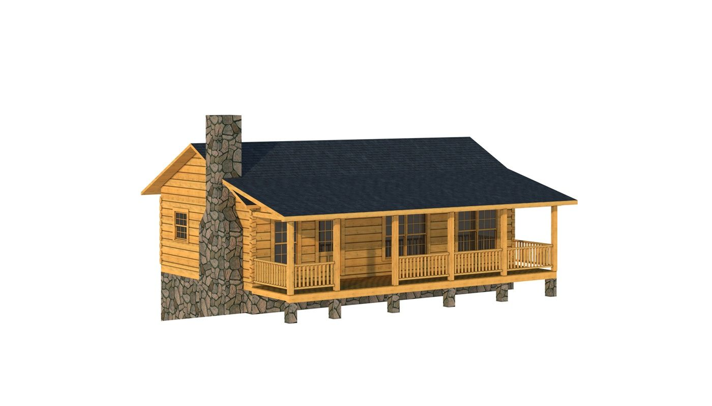 Mcminn Log Cabin Kit Plans Information Log Cabin Floor Plan