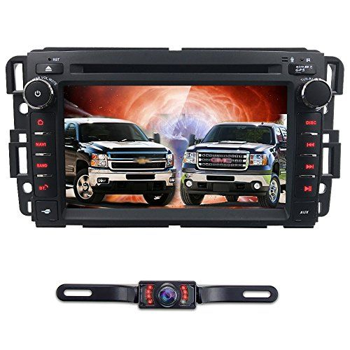 Android 7 1 Car Stereo Dvd Player For Gmc Chevy Silverado 1500 2012 Gmc Sierra 2011 2010 7 Inch Quad Core Double D Chevy Silverado 1500 Silverado Backup Camera