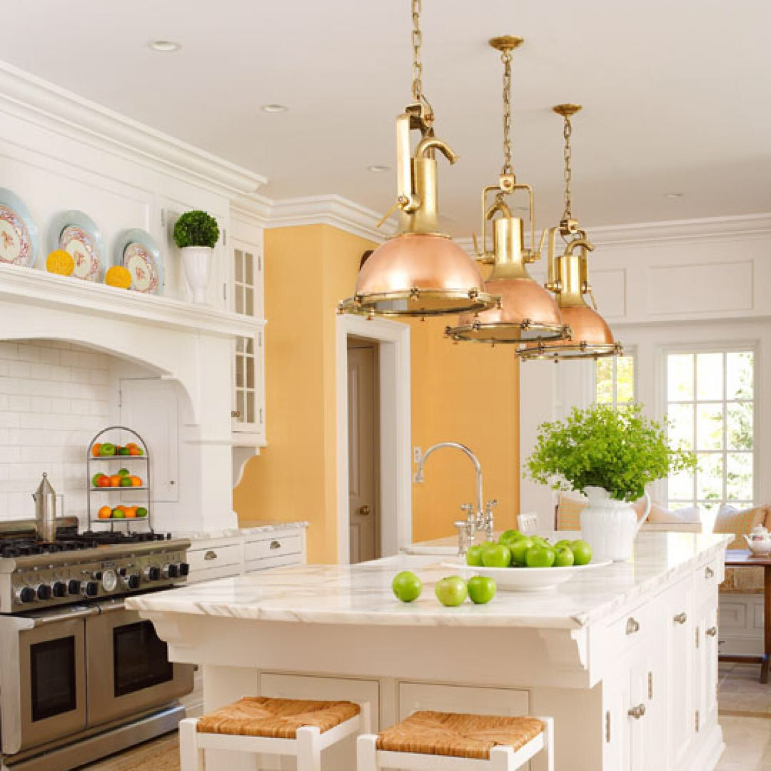 Love the wall color! | For the kitchen | Pinterest | Wall colors ...