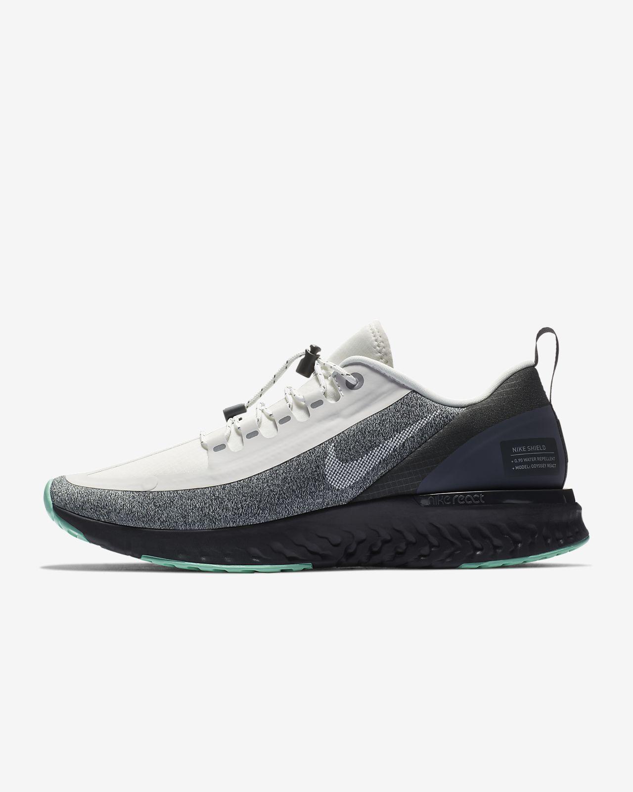 Nike Odyssey React Shield Herren Laufschuh schwarz cool grey