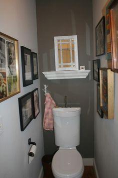 Tiny 1 2 Bathroom Ideas Google Search Small Space Bathroom Tiny Bathrooms Sink Toilet Combo