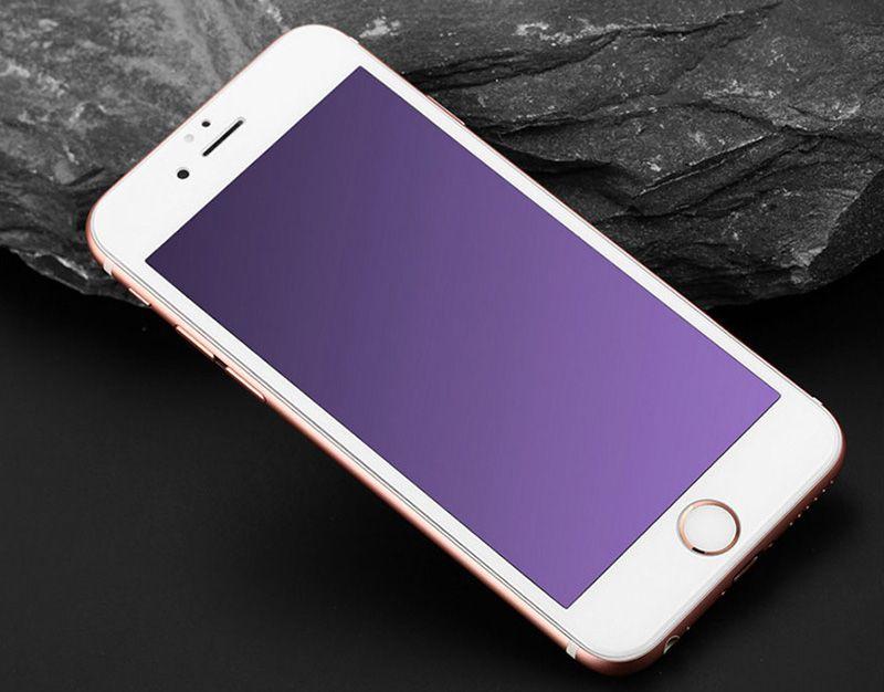 Anti Blue Light iPhone 7 6 6S Plus Full Screen Coverage Protectors Nano Film IPASP05_18