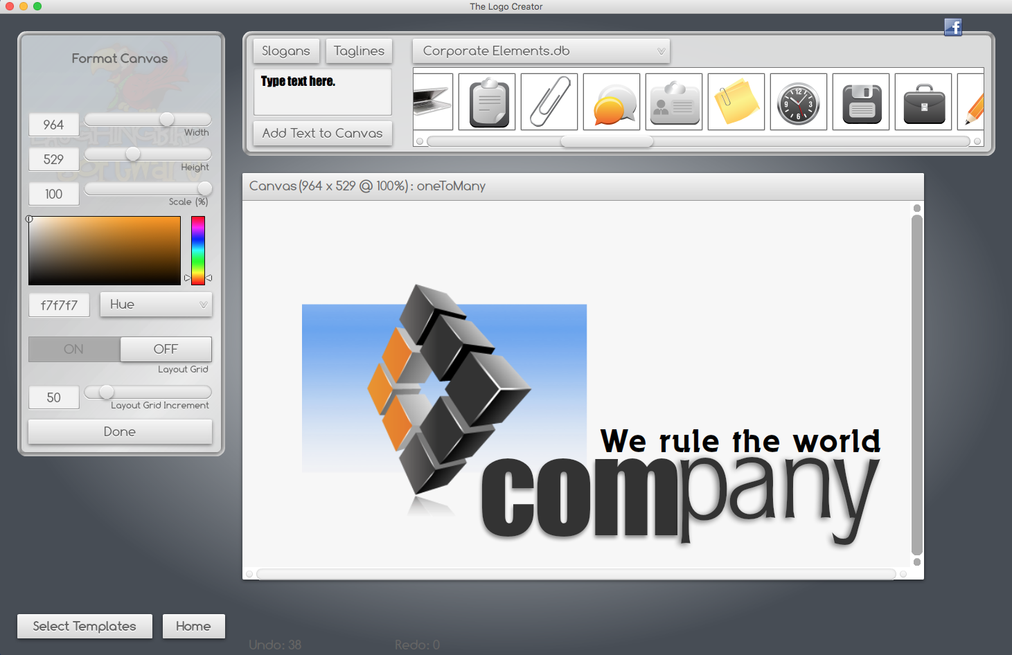 The Logo Creator is the best logo design tool on the