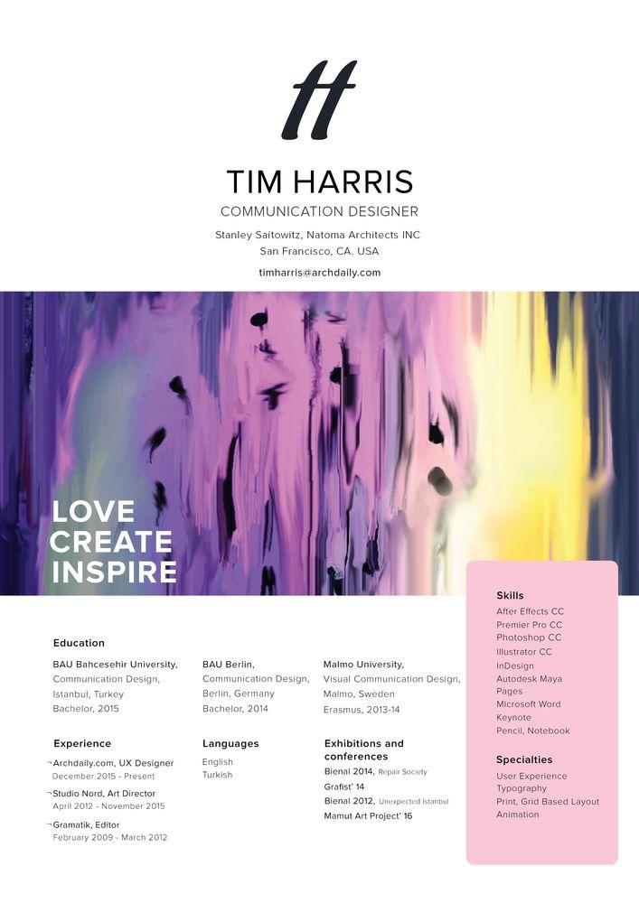 Galería de Los mejores Currículum Vitae en arquitectura enviados por ...