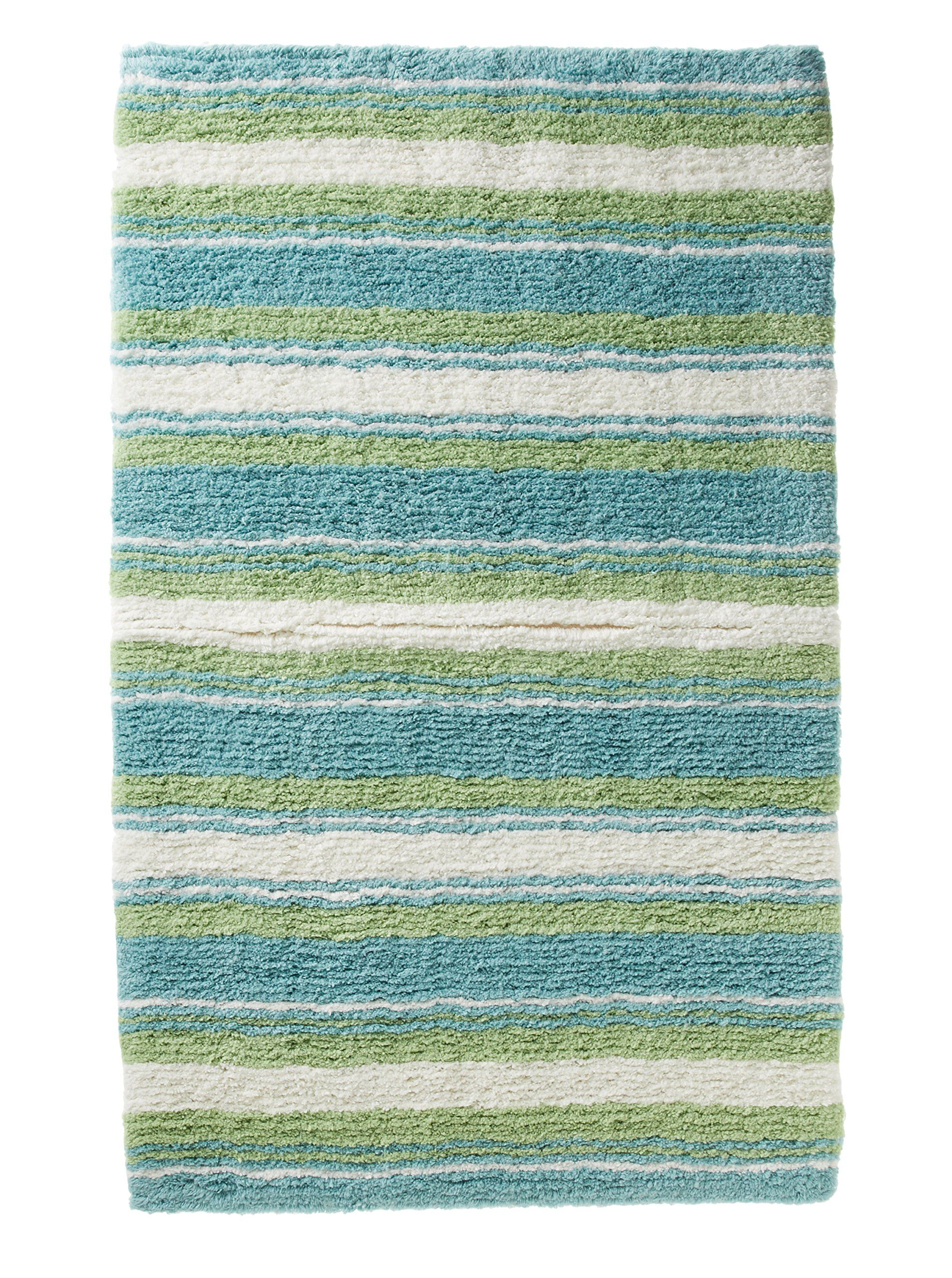 Aqua bathroom rugs - Ocean Bath Rug Tommy Bahama Ocean Stripe 24 99 5 70 Est Shipping From