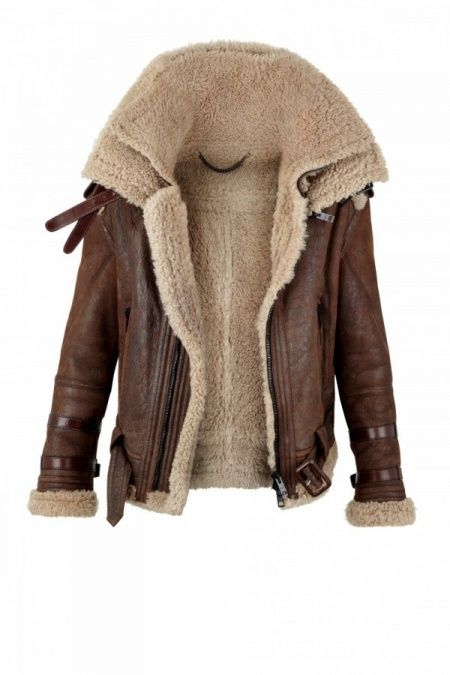 Spotted: the shearling aviator jacket | Shearling jacket