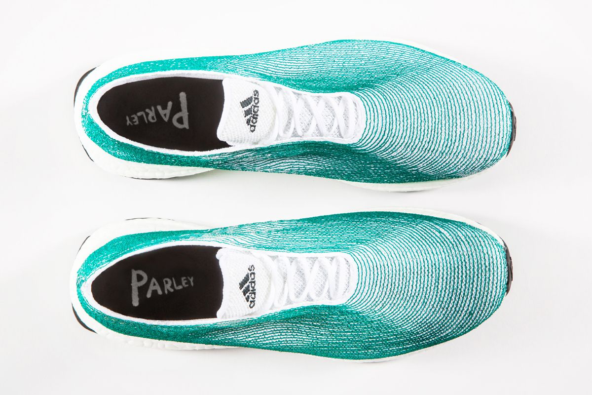 adidas and Parley for the Oceans Showcase Sustainability With an Innovative  Footwear Concept