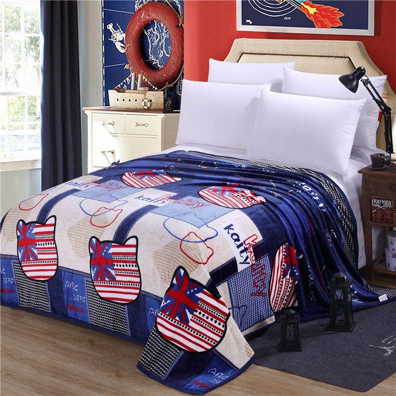 Discount High Quality Supreme Ferrets Blanket American Flag