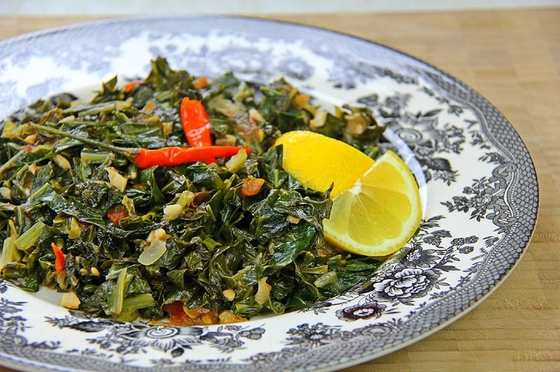 How to cook collard greens the caribbean way click for the full how to cook collard greens the caribbean way click for the full recipe vegetarian forumfinder Images
