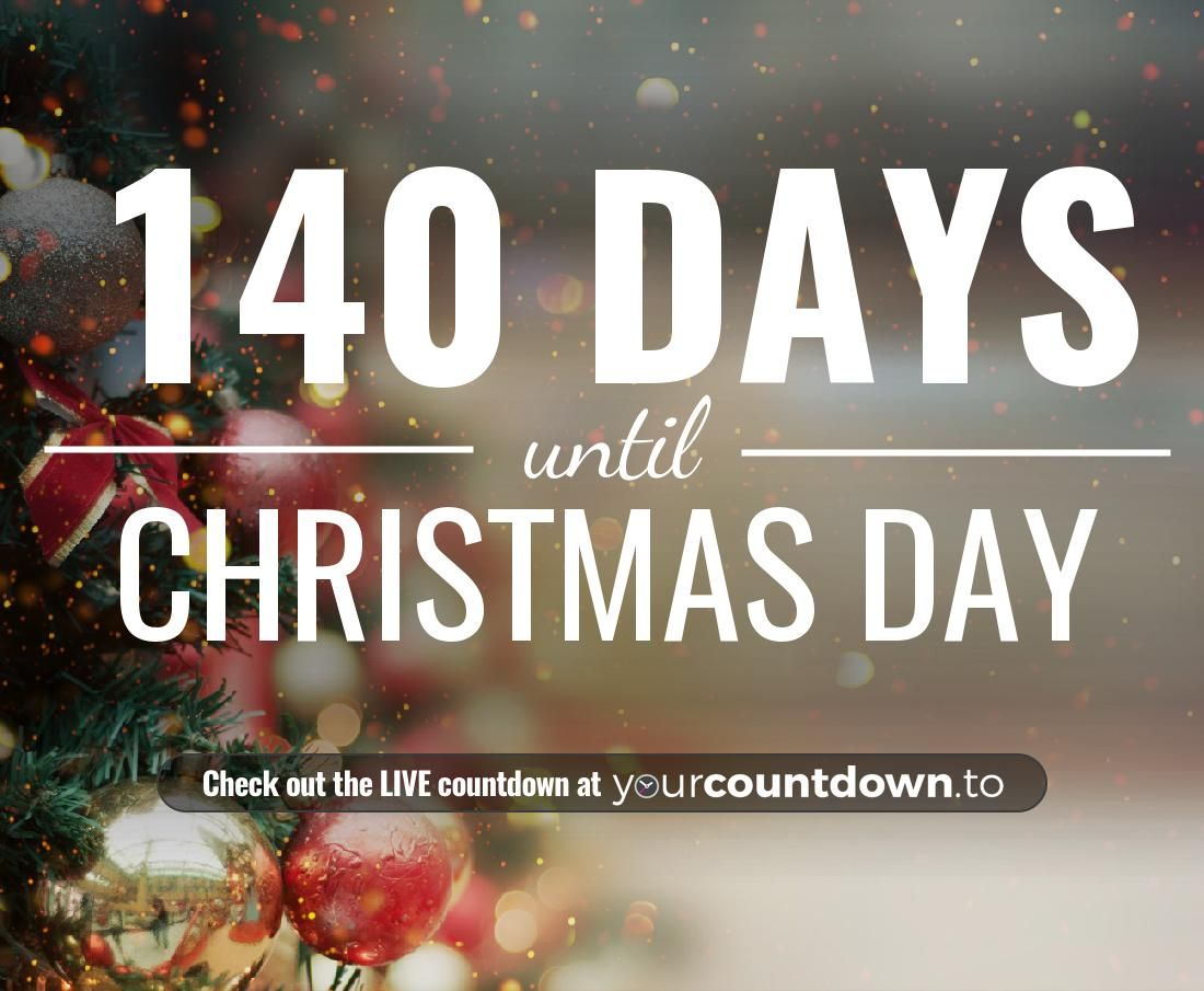 Counting Down The Days Hours Minutes And Seconds Until Christmas Day 2019 Day Christmas Christmas Countdown