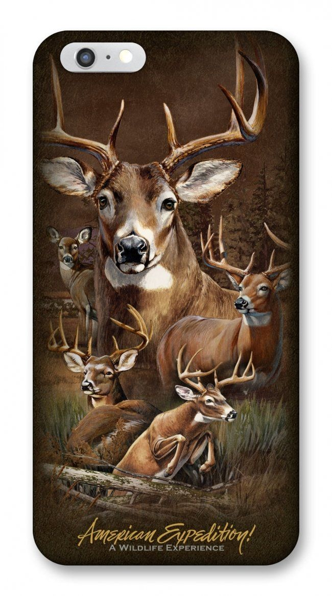 Whitetail Deer iPhone 6 Wildlife Series Phone Case For $12.99