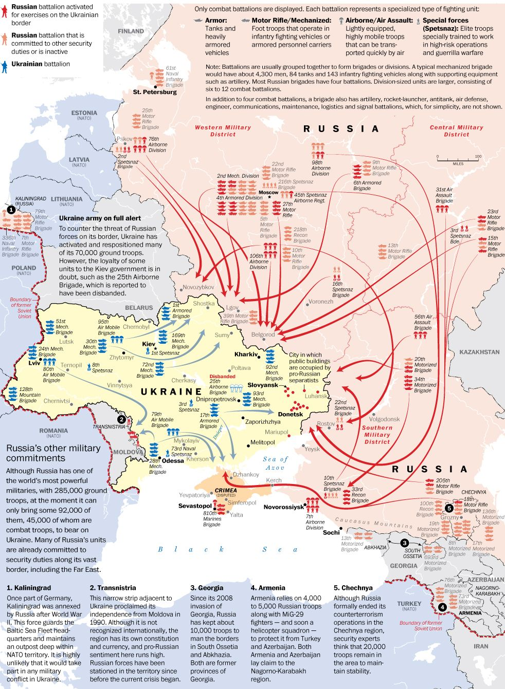 Itd Be Wrong To Assume That Military Conflict Between Russia And - Map of us military bases in middle east