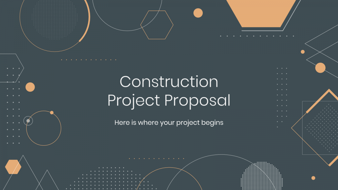 Construction Project Proposal Google Slides Theme And Powerpoint Template Project Proposal Proposal Powerpoint Templates