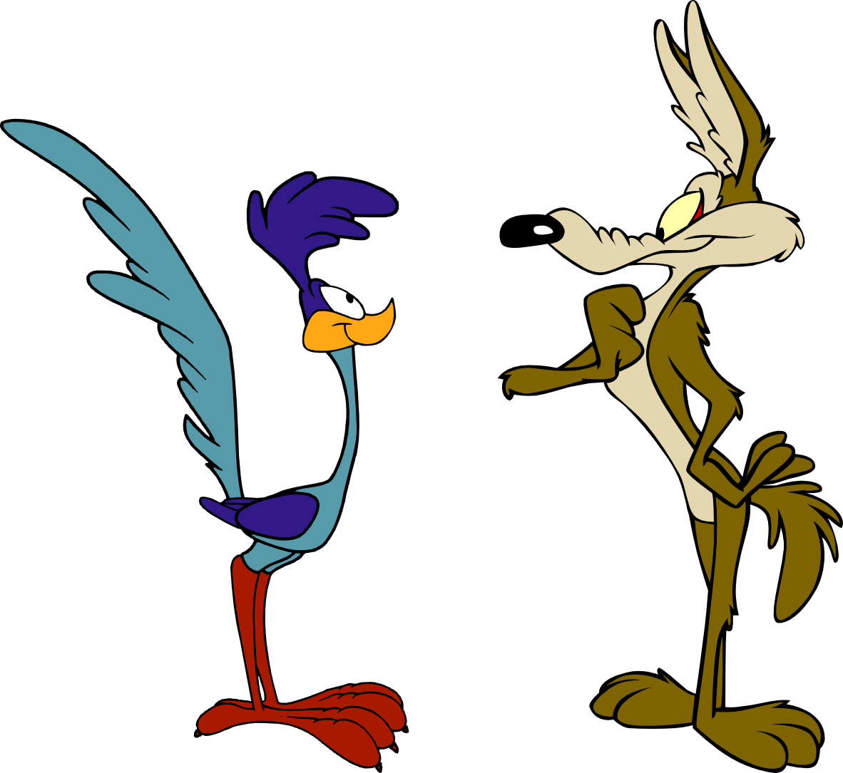The Adventures Of Wile E Coyote And The Road Runner Miniseries Looney Tunes Characters Classic Cartoon Characters Old Cartoons
