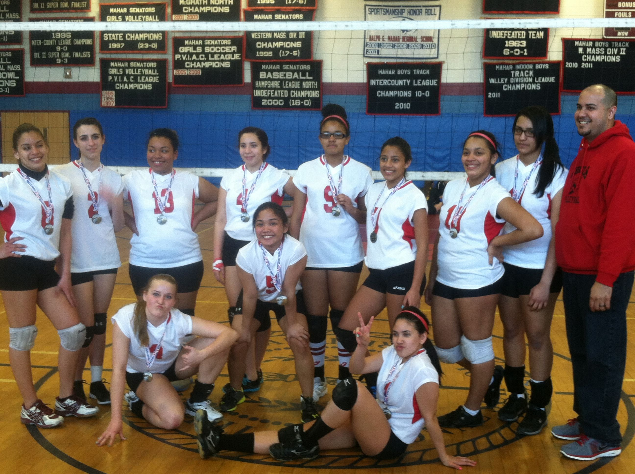 Springfield Rebels Volleyball Champion Sports