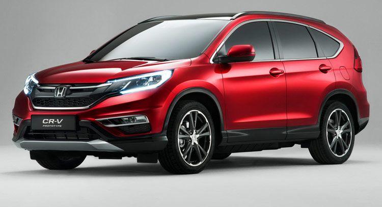 Honda S 2015 Cr V Facelift For Europe Gets New 160ps 1 6l Diesel Honda Crv Honda Cr Suv