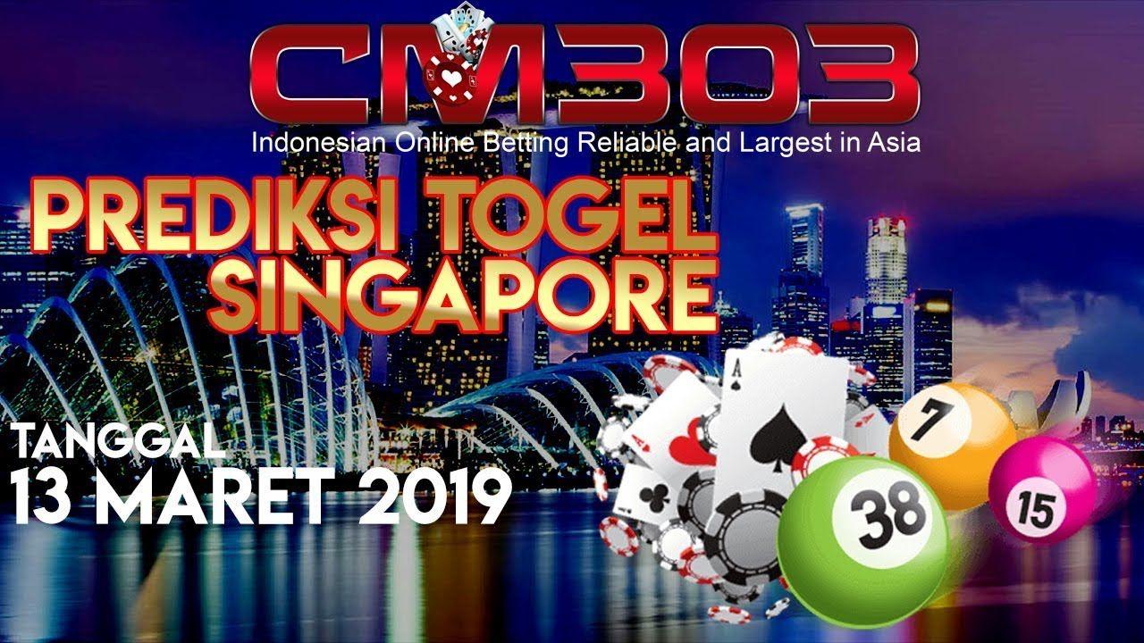 PREDIKSI DATA SGP TOGEL SINGAPURA 13 MARET 2019 | PAITO JITU