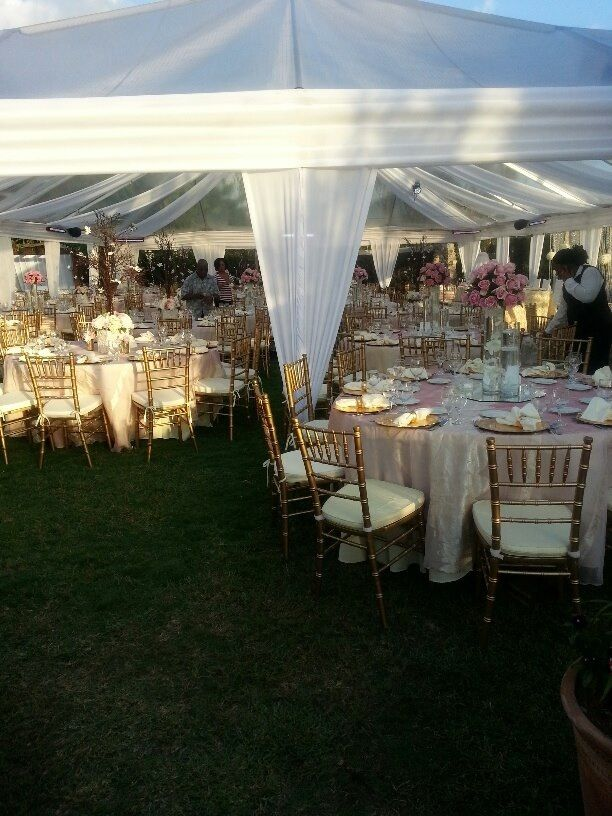 Helen G Events Wedding Reception Decor For In Jamaica Jamaicawedding Weddingdecor Weddingflowers Weddingcenterpieces Flowers Whitehydrangeas