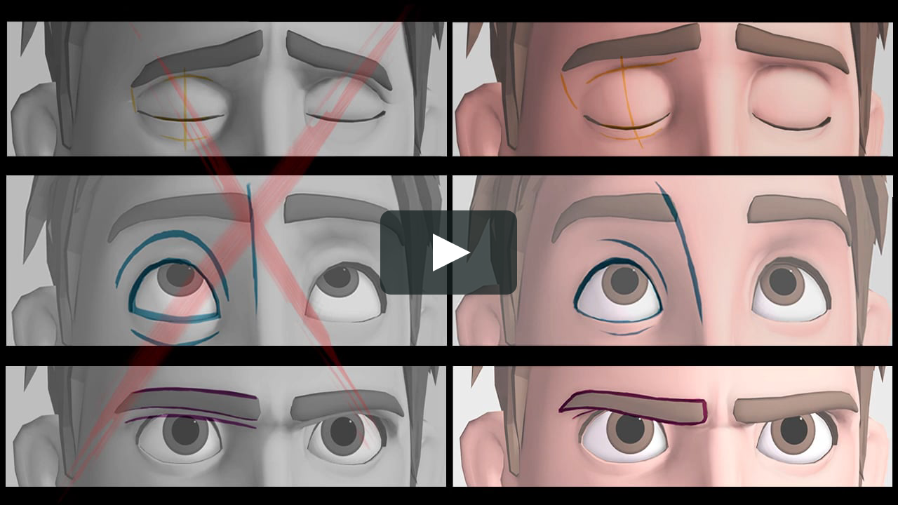 AnimMinute # 4: Appeal and Anatomy | Pinterest | Animation ...