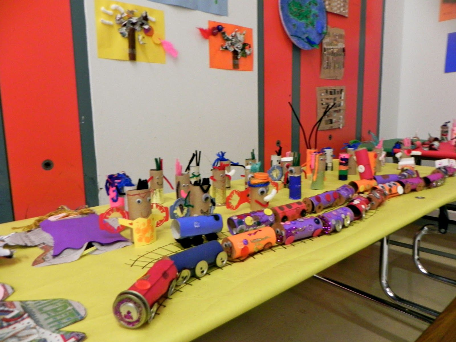 Recycled art projects for kids the newspaper dolls by for Amazing recycling projects