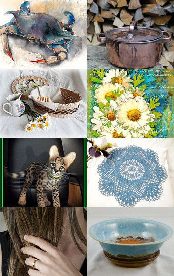 Blue morning ! by Nathalie on Etsy--Pinned with TreasuryPin.com